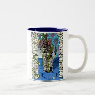 Snow white in winter coffee mugs