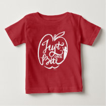 Snow White | Just One Bite - Red Baby T-Shirt