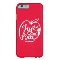 Snow White | Just One Bite - White Barely There iPhone 6 Case