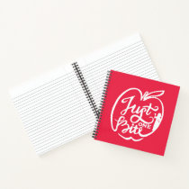 Snow White | Just One Bite - White Notebook