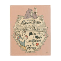 Snow White | Just One Bite Wood Wall Decor
