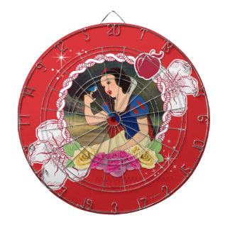 Snow White - Kind to all Big and Small Dart Board