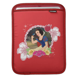 Snow White - Kind to all Big and Small iPad Sleeve