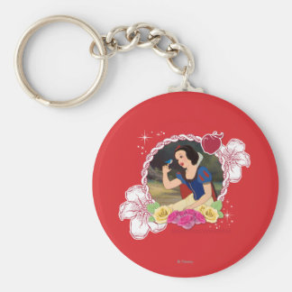 Snow White - Kind to all Big and Small Keychain