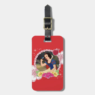 Snow White - Kind to all Big and Small Luggage Tags