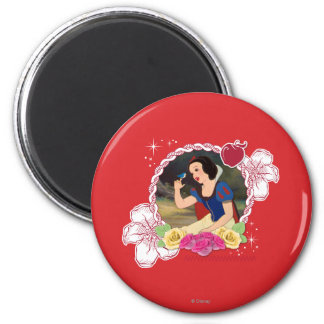 Snow White - Kind to all Big and Small Magnet