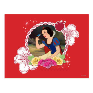 Snow White - Kind to all Big and Small Postcard