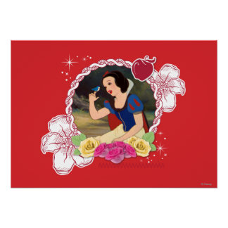 Snow White - Kind to all Big and Small Poster