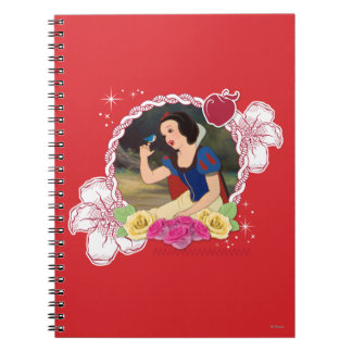 Snow White - Kind to all Big and Small Spiral Notebook