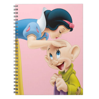 Snow White Kissing Dopey on the Head Note Book