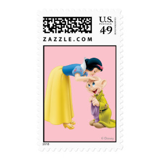Snow White Kissing Dopey on the Head Stamps