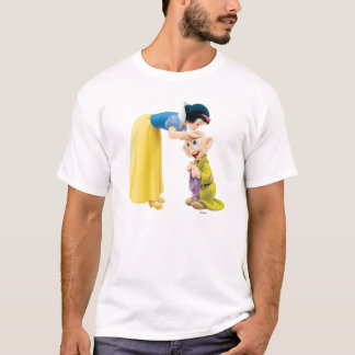 Snow White Kissing Dopey on the Head T-Shirt