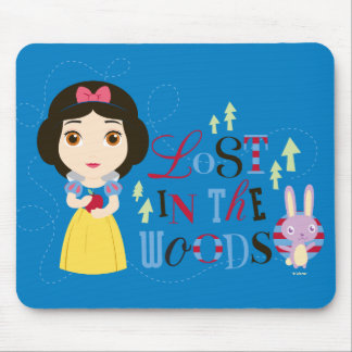 Snow White   Lost in the Woods Mouse Pad