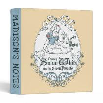 Snow White | Lovely Little Songbird 3 Ring Binder