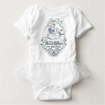 Snow White | Lovely Little Songbird Baby Bodysuit
