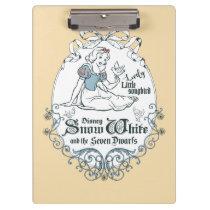 Snow White   Lovely Little Songbird Clipboard