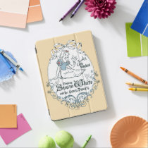 Snow White   Lovely Little Songbird iPad Air Cover