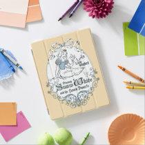 Snow White   Lovely Little Songbird iPad Smart Cover