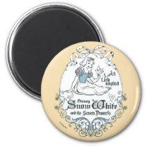 Snow White   Lovely Little Songbird Magnet