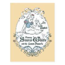 Snow White | Lovely Little Songbird Postcard