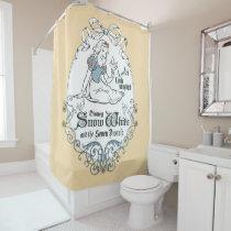 Snow White | Lovely Little Songbird Shower Curtain