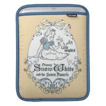 Snow White   Lovely Little Songbird Sleeve For iPads