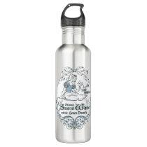 Snow White   Lovely Little Songbird Stainless Steel Water Bottle
