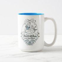 Snow White   Lovely Little Songbird Two-Tone Coffee Mug