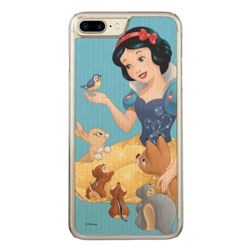 Zazzle Snow White | Make Time For Buddies Carved Iphone 8...