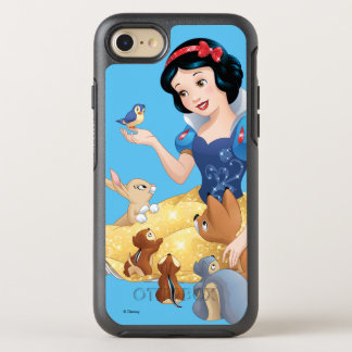 Snow White | Make Time For Buddies OtterBox Symmetry iPhone 8/7 Case