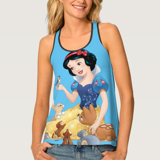 Zazzle Snow White | Make Time For Buddies Tank Top
