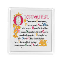 Snow White | Once Upon A Time Acrylic Tray