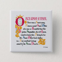 Snow White | Once Upon A Time Button