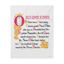 Snow White | Once Upon A Time Fleece Blanket
