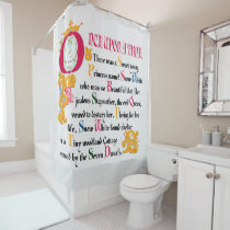 Snow White | Once Upon A Time Shower Curtain