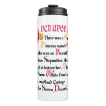 Snow White | Once Upon A Time Thermal Tumbler