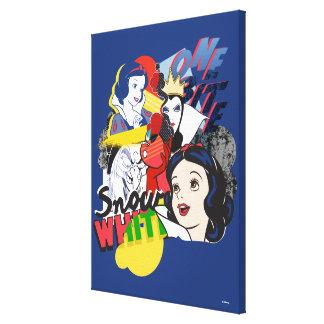 Snow White   One Bite Canvas Print