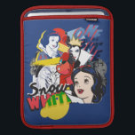 "Snow White | One Bite iPad Sleeve<br><div class=""desc"">This modern,  pop art design includes Snow White,  the Evil Queen &amp; the Witch in a bright,  comic print.</div>"