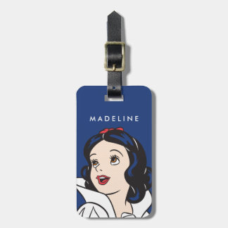Snow White | One Bite Luggage Tag