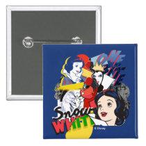 Snow White | One Bite Pinback Button