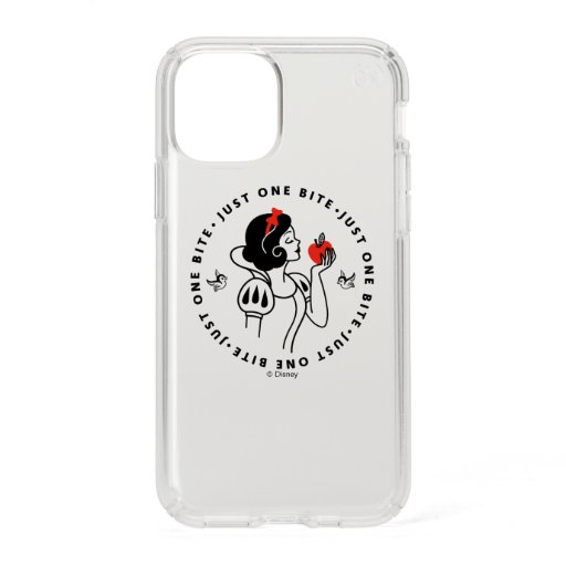 """Snow White Outline Graphic """"Just One Bite"""" Speck iPhone 11 Pro Case"""