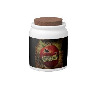 Snow White Poison Apple Jar Candy Jars