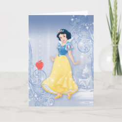 Standard Card with Princess Snow White with Poisened Apple design