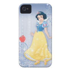 Case-Mate iPhone 4 Barely There Universal Case with Princess Snow White with Poisened Apple design