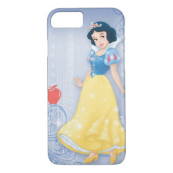 Case-Mate Barely There iPhone 7 Case with Princess Snow White with Poisened Apple design