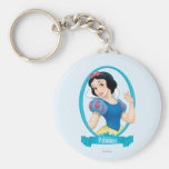 Snow White Princess Keychain