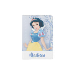 Passport Holder with Princess Snow White with Poisened Apple design
