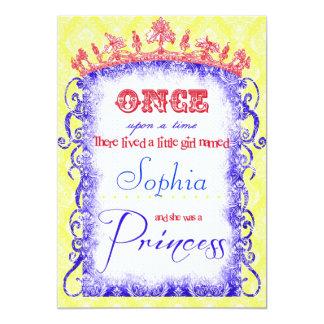 Snow White Princess Party Invitations