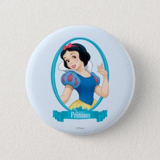 Snow White Princess Pinback Button