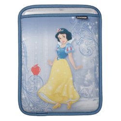 iPad Sleeve with Princess Snow White with Poisened Apple design